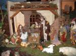 Typical Nativity Scene or ¨Portal¨ in Costa Rica